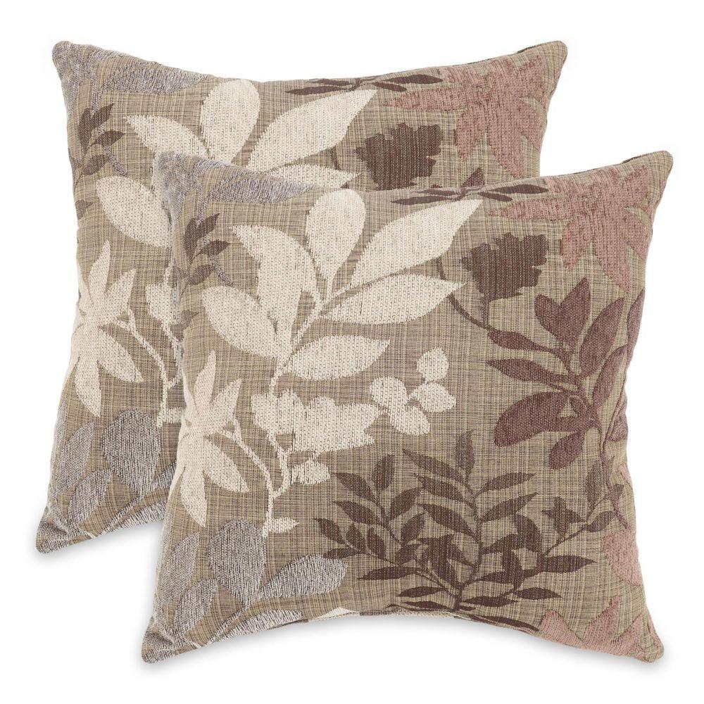 Bristol Chenille Jacquard 17-pk. Decorative Pillows