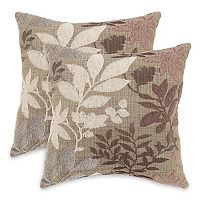 Essentials Bristol Chenille Jacquard 2 pkDecorative Pillows