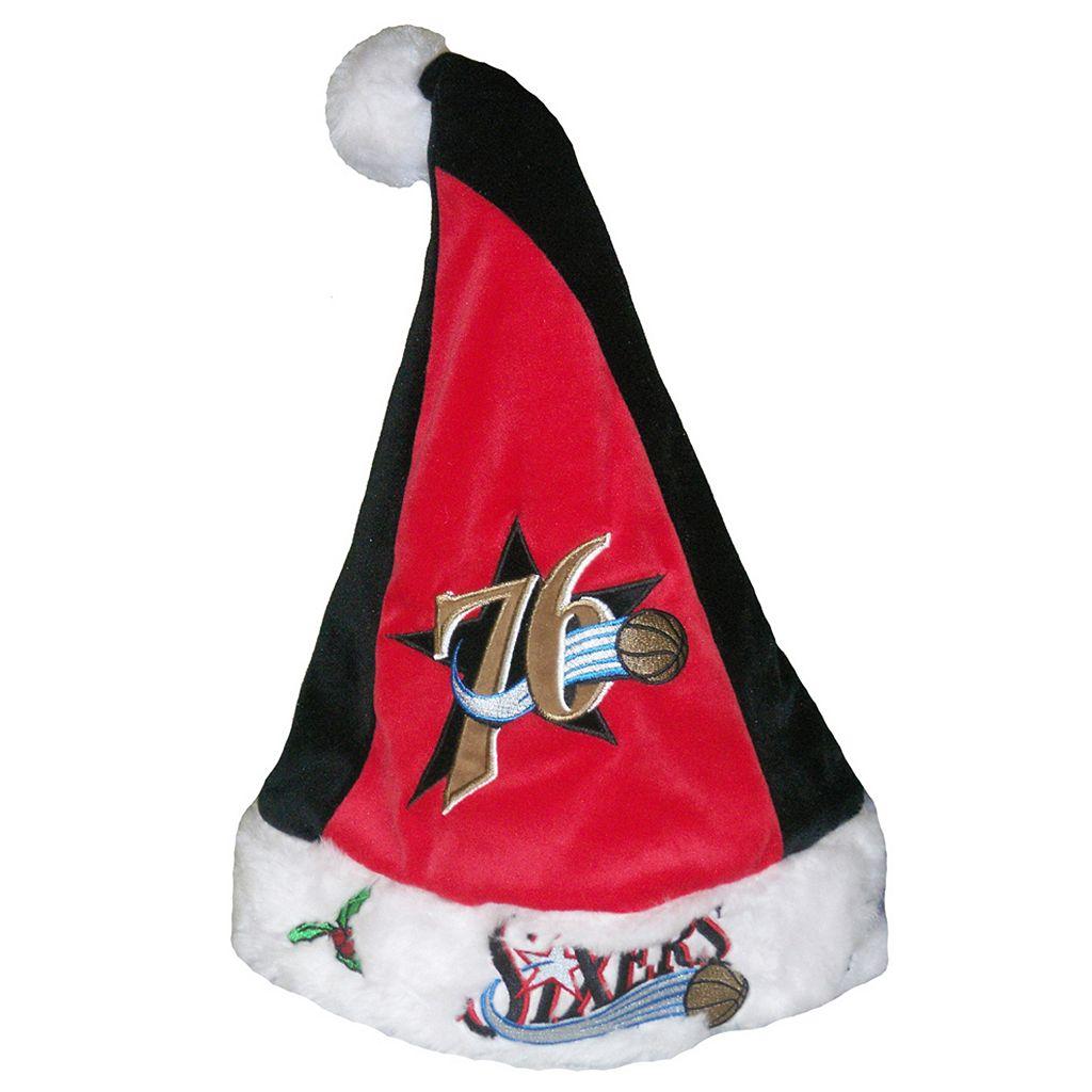 Adult Forever Collectibles Philadelphia 76ers Santa Hat