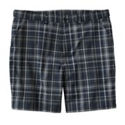 FILA SPORT GOLF Plaid Flat-Front Performance Shorts - Big and Tall