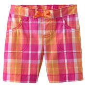 Jumping Beans Plaid Bermuda Shorts - Baby