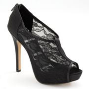 ELLE Peep-Toe Platform Dress Heels - Women