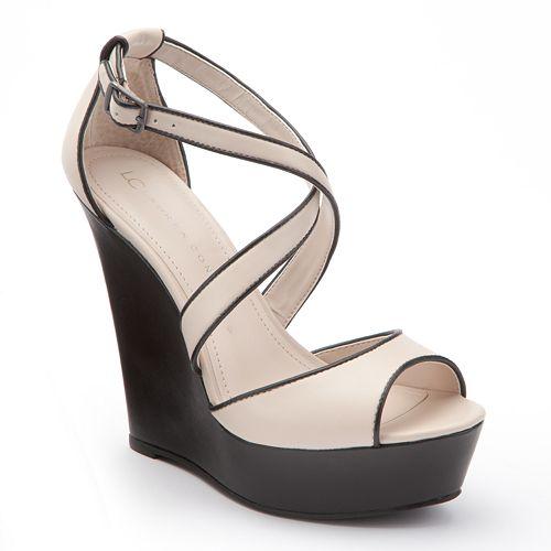 d16279df4efb LC Lauren Conrad Platform Wedge Sandals - Women