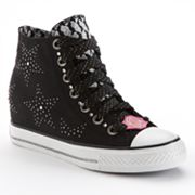Skechers Daddy's Money Gimme Star Studded Wedge Sneakers - Women