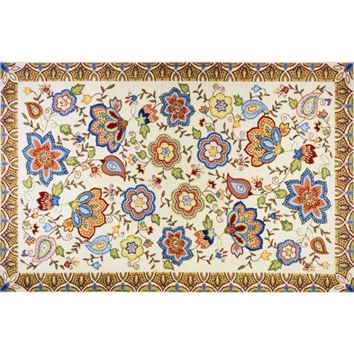 Momeni Spencer Floral Rug – 2′ x 3′