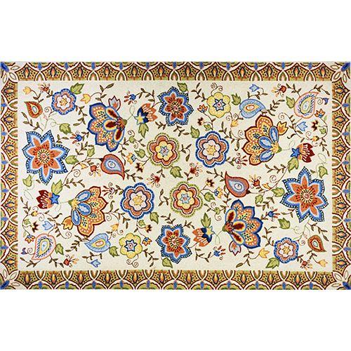 Momeni Spencer Floral Rug - 5' x 8'
