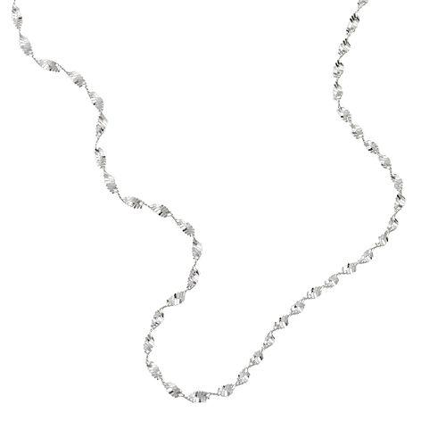 PRIMROSE Sterling Silver Butterfly Twist Necklace - 16-in.