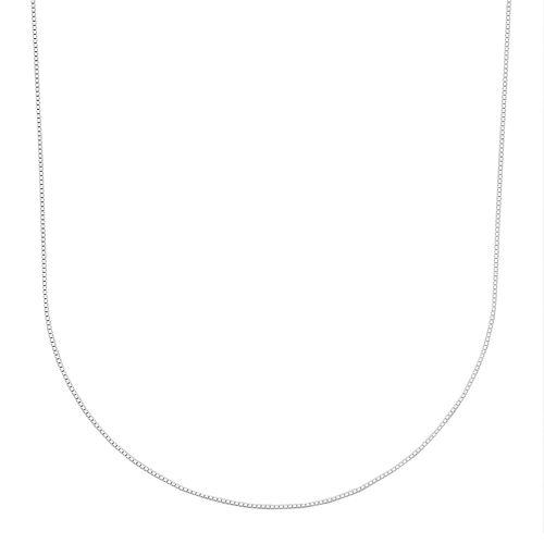 PRIMROSE Sterling Silver Box Chain Necklace - 24-in.