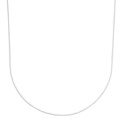 PRIMROSE Sterling Silver Box Chain Necklace - 18-in.