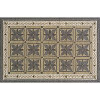 Momeni Veranda Framed Floral Indoor Outdoor Rug - 8' x 10'