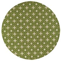 Momeni Veranda Medallion Indoor Outdoor Rug - 9' Round