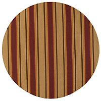 Momeni Veranda Striped Indoor Outdoor Rug - 9' Round