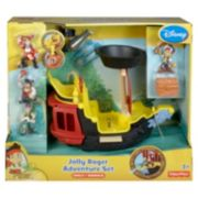Disney Jake and the Never Land Pirates Hook's Jolly Roger Ship Deluxe Pack by Fisher-Price