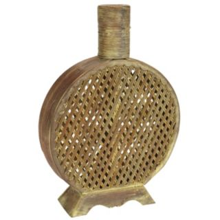 nearly natural Open Weave Decorative Vase