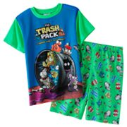 Trash Pack 2-pc. Pajama Set - Boys 4-20