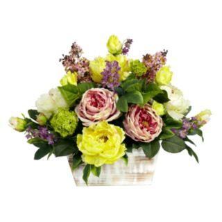 nearly natural Silk Mixed Floral Arrangement
