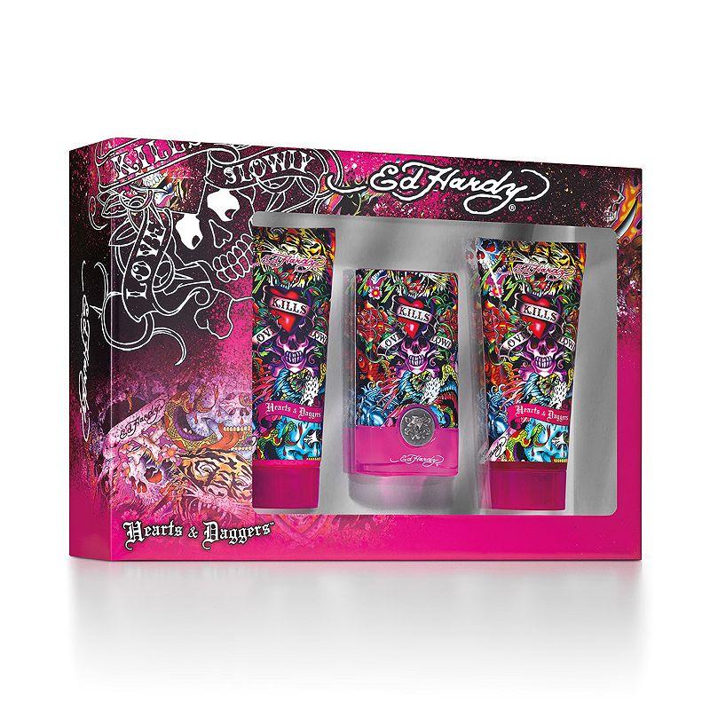 Ed Hardy Hearts Daggers For Women Eau De Parfum Spray 3 4 Oz: Ed Hardy Perfume