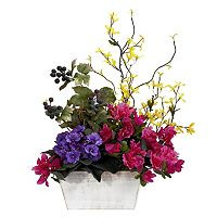 nearly natural Silk Mixed & Azalea Floral Arrangement