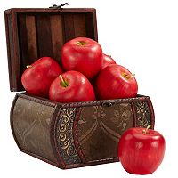 nearly natural 6 pc Apple Set