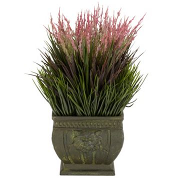 nearly natural Silk Mixed Grass Plant
