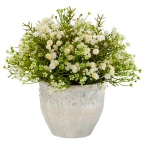 nearly natural Silk Mixed Daisy Plant
