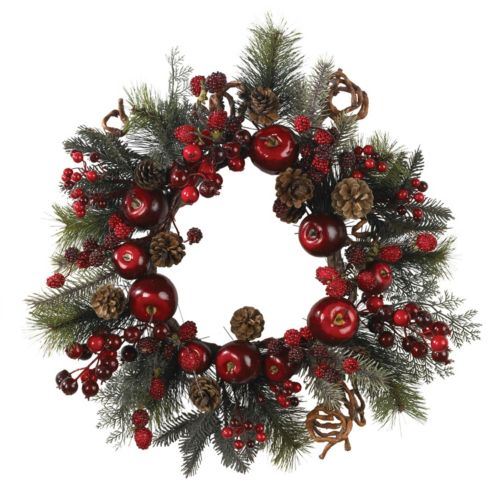 nearly natural Apple Berry Wreath