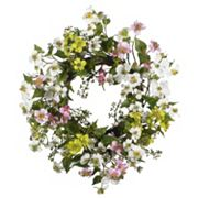 nearly natural Dogwood Floral Wreath