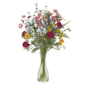 nearly natural Silk Wildflower Garden Arrangement