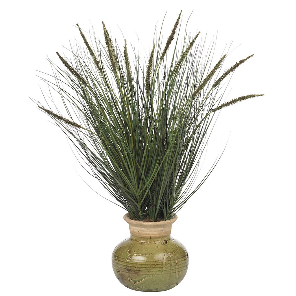 nearly natural Silk Grass Plant