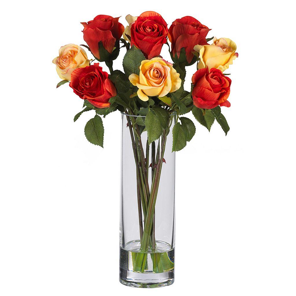 nearly natural Silk Rose Arrangement