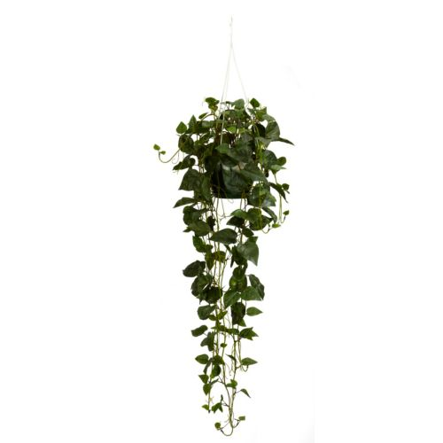 nearly natural Silk Philodendron Hanging Basket Plant