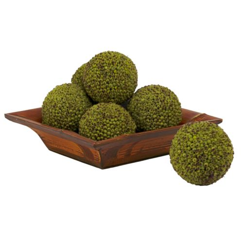 nearly natural 6-pc. Berry Sphere Decor Set