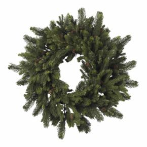 nearly natural 30-in. Pine and Pinecone Wreath