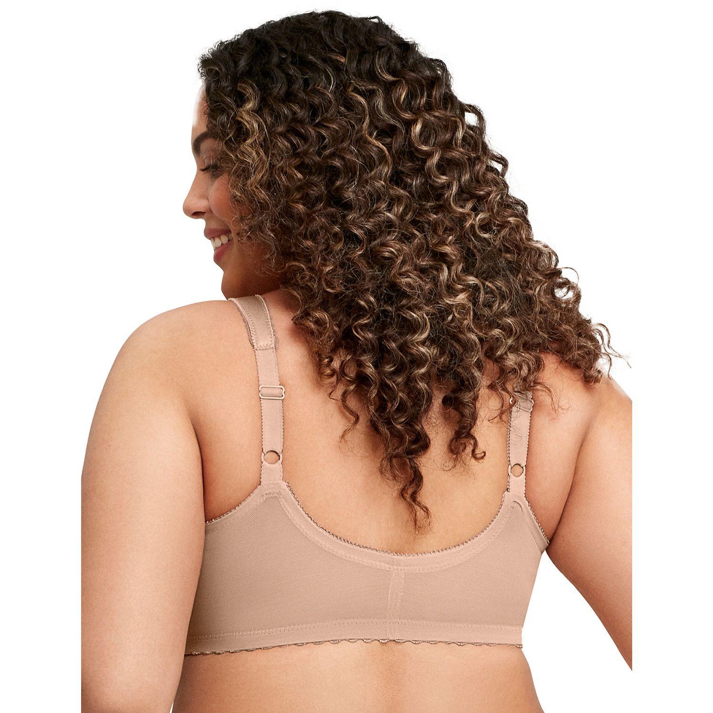 d93e141ec25a9 Womens Front-Closure Full-Figure Bras - Underwear