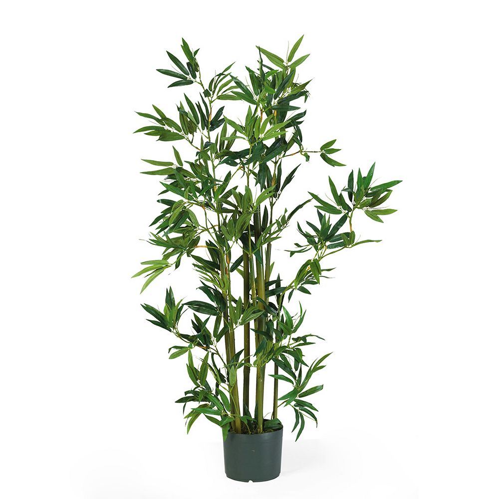 nearly natural 4-ft. Bamboo Silk Plant