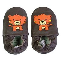 Tommy Tickle Tiger Crib Shoes - Baby