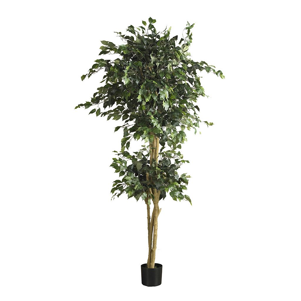 nearly natural 6-ft. Ficus Silk Tree