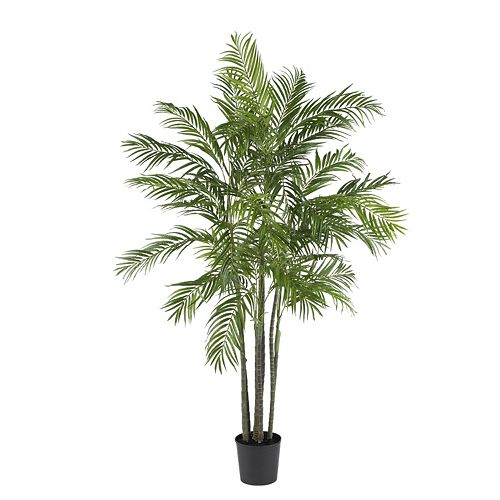 nearly natural 6-ft. Silk Areca Palm Tree
