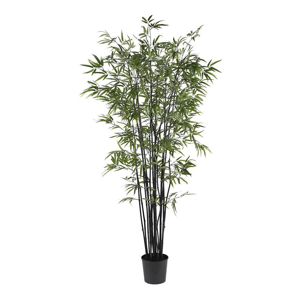 nearly natural 6 1/2-ft. Silk Black Bamboo Tree