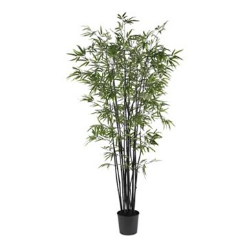 nearly natural 6 1/2-ft. Silk Black Bamboo Tree