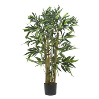nearly natural 3-ft. Silk Biggy Bamboo Tree