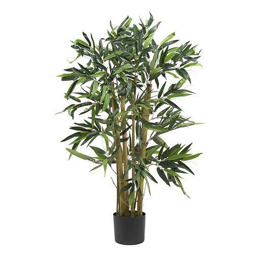nearly natural 3-ft. Silk Biggy Bamboo Tree