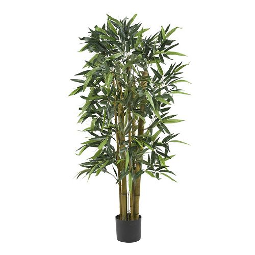 nearly natural 4-ft. Silk Biggy Bamboo Tree