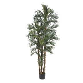 nearly natural 6-ft. Silk Robellini Palm Tree