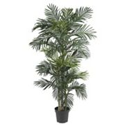 nearly natural 6 1/2-ft. Silk Golden Cane Palm Tree