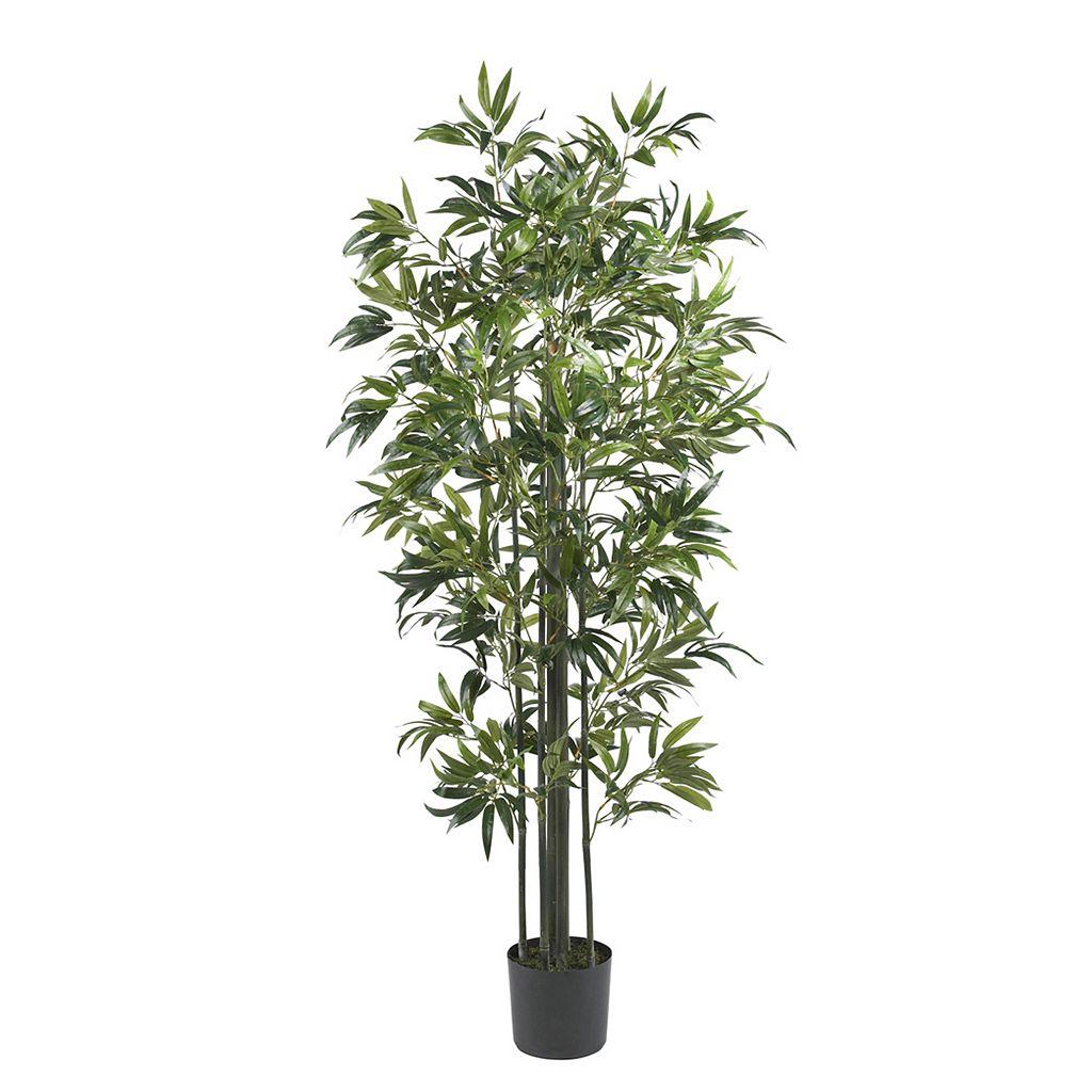 nearly natural 6-ft. Silk Bamboo Tree
