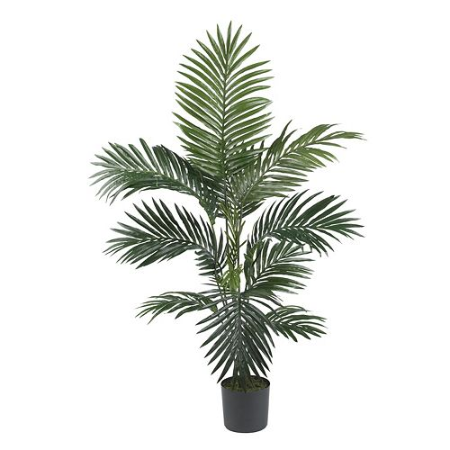 nearly natural 4-ft. Silk Kentia Palm Tree