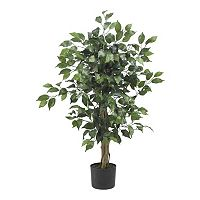 nearly natural 3-ft. Silk Ficus Tree