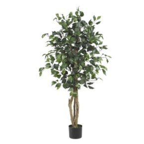 nearly natural 4-ft. Silk Ficus Tree