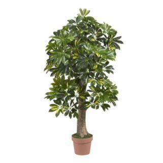 nearly natural 4-ft. Silk Schefflera Tree